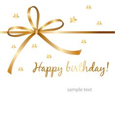 happy birthday gold wishes - Google Search