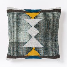 Woven Totem Pillow Cover   west elm