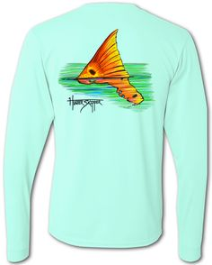 Check out Hunter Skipper's Redfish Reverie performance shirt today for a fisherman shirt you won't want to go one fishing trip without! Get yours now!