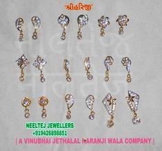 Kids Earrings, Jewelry Design Earrings, Gold Earrings Designs, Small Earrings, Designer Earrings, Bali Jewelry, Jewellery, Unicorn Nails, Fashion Jewelry