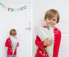 "schultuete - ""In Germany it is a huge tradition to get a 'Schultuete' for the first day of your first year in Elementary school.  The 'Schultuete' is a cone filled with candy, pencils, school supplies and other treats."" I like the idea of this tradition."
