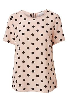 Short Sleeve Luxe Tee in Blush Pink   100% Silk   AU$99.95   Witchery