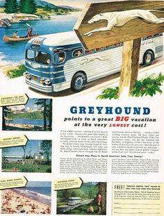 1931 GREYHOUND MACK BUS Picture Photo Travel History 1979 Story of America CARD