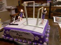 Gymnastics Cake Decorating Community Cakes We Bake cakepins.com