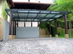 Glass pergola, could be cool with a copper colored metal instead of the steel shown here. http://www.glassnetwork.com.my/media/gallery/canopy/images/canopy-07.jpg