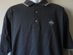 PING OTTO Collection Gray Short Sleeve Polo Shirt Golf Size Large   #Ping #Golf #Otto  www.guppy64.com