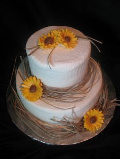 country wedding cakes | Country Bridal Shower Cake