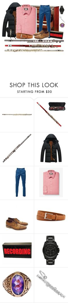 """""""Pink and Blue"""" by clothedinchrist ❤ liked on Polyvore featuring Express, Loake, Neiman Marcus, Michael Kors, Tiffany & Co., men's fashion and menswear"""