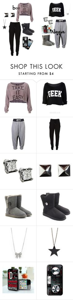"""Bee & Niqque ""Hey...Mama"""" by tosha-swaggin-walker ❤ liked on Polyvore featuring Rebel Yell, Organic by John Patrick, Chalayan, Bardot, UGG Australia and Alex and Chloe"