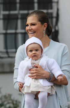 Crown Princess Victoria with Princess Estelle