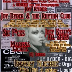 Joy Ryder Benefit Flyer (V.1)