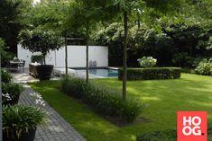 Anne Laansma - Pure eenvoud in een moderne tuin met zwembad