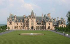 Everyone should see this place..so pretty  Biltmore Estate in Asheville, NC.