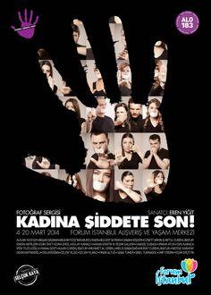 """33 Ünlü İsim """"Alo 183 Hayat Kurtarır, Kadına Şiddete Son!"""" Demek İçin Bir Araya Geldi http://weekly.com.tr/?p=14281"""