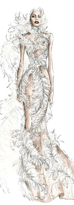 Roberto Cavalli for Lady Gaga Cheek to Cheek| Be Inspirational ❥|Mz. Manerz: Being well dressed is a beautiful form of confidence, happiness & politeness