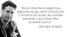 Coisas de Terê→ George Orwell