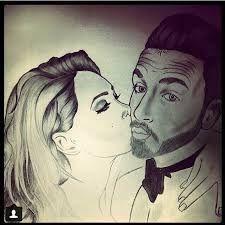 Mignon Dessin Couple Swag