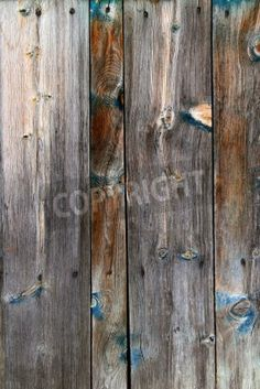aged grunge wood vintage weathered wooden background via MuralsYourWay.com. works in my house with rustic wood and blue/brown/gold.