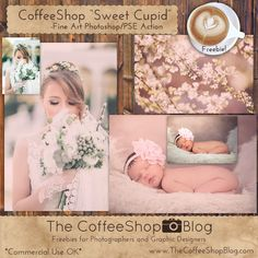 Freebies and Tutorials for Photographers and Digital Designers for Photoshop, Photoshop Elements, and Lightroom. Photoshop For Photographers, Photoshop Photography, Photography Tips, Photoshop Elements Actions, Shops, Popular Photography, Photo Editing Tools, Make Photo, Cupid
