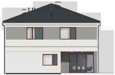 DOM.PL™ - Projekt domu SD Kartagina CE - DOM SD1-94 - gotowy koszt budowy Gazebo, Shed, Outdoor Structures, Kiosk, Pavilion, Cabana, Barns, Sheds