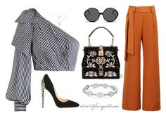 A fashion look from July 2017 featuring crop tops, brown pants and black heeled shoes. Browse and shop related looks. Brown Pants, Linda Farrow, Fashion Looks, Crop Tops, Polyvore, Shopping, Black, Brown Pants Outfit, Short Tops