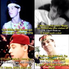 Taylor and Cameron imagine