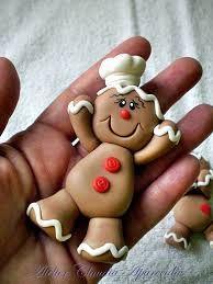 Resultado de imagen para imã de geladeira de biscuit de natal