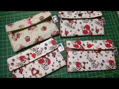 How to do a fabric clutch Jersey Rest, Clutch Tutorial, Cute Baby Videos, Clutch Pattern, Diy Bags Purses, Belt Pouch, Crochet Magazine, Sewing Art, Patch Quilt