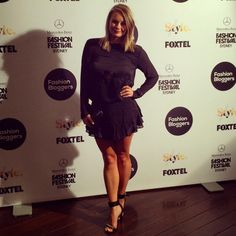 Mercedes Benz Fashion Festival, bloggers choice runway show. Wearing Three of Something.