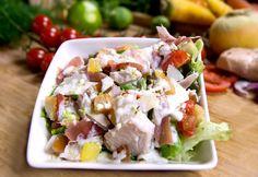 La Salalde César de Charles Leriche #salade #cesar #streetfood #foodtruck #cuisine #gastronomie #charlesleriche charles-leriche.com