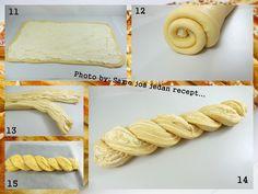 Samo još jedan recept...: Slana raspletena pletenica sa sirom