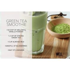 Combining tea and smoothies never tasted so good. #wellpath #gowellpath…