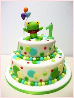 Torta Sapo Pepe Hippie Birthday, Frog Cakes, Candy Party, 1st Birthdays, Fancy Cakes, Cold Porcelain, Cupcake Cookies, Cakes And More, Cake Designs