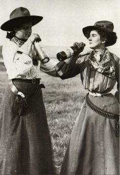 Women of the west were different than the girls back home.