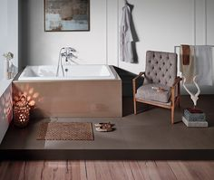 Built-in bathtub: MORITZ