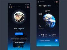 Space Pioneers by Dasha Bugrovskaya