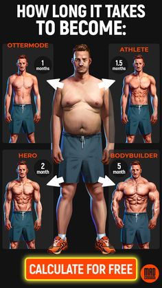 Muscle building workout plan for men. Get yours!
