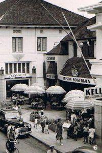 Bogerijen_Bragastraat Bandoeng. Such a beautiful place long time ago in Braga, Bandung,Indonesia