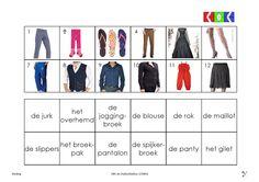 kleding 8 Dutch, School, Shopping, Dutch Language