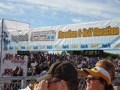 Long Beach 1/2 Marathon 10/7/12 - 3rd race @ 2 hours 25 minutes