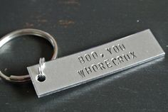 """""""Boo, You Whorecrux"""" Keychain   Community Post: 22 Etsy Finds Every """"Mean Girls"""" Fan Should Own"""