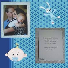 """Prince George thank you cards sent to well wishers for his birthday. """"The Duke and Duchess of Cambridge are most grateful for the very kind message you sent Prince George on the occasion of his first birthday. It really was most thoughtful of you and greatly appreciated."""""""