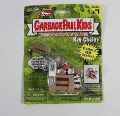 Garbage Pail Kids Key Chain Electric Bill Fryin Brian 2001 Topps Series 1 Lights