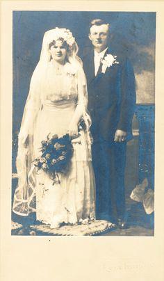 My Great Grandparents Wedding Photo (1916)
