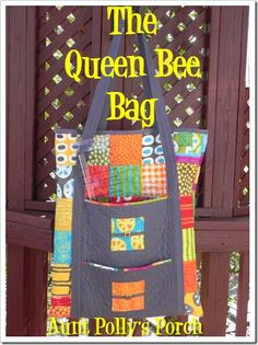 The Queen Bee Bag ~ Moda Bake Shop