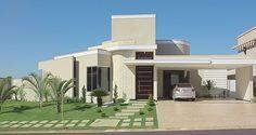 Decor Salteado - Blog de Decoração   Construção   Arquitetura   Paisagismo: Fachadas de Casas e Muros!
