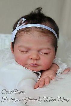 Reborn Prototype Baby Doll Ylenia by Elisa Marx Conny Burke IIORA