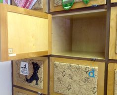Inside of Bunny Hop Lockers for Rent