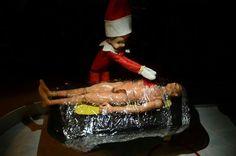 Elf on a shelf for adults - Dexter!