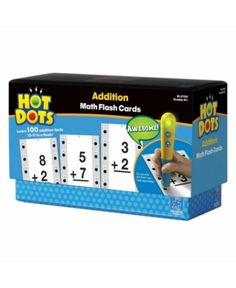 Educational Insights Hot Dots Math Flash Cards- Multiplication ** Make certain to check out this outstanding item. (This is an affiliate link). Multiplication Facts, Math Facts, Fractions, Subtraction Activities, Math Flash Cards, Addition Facts, Hot, Learning Resources, Teaching Tips